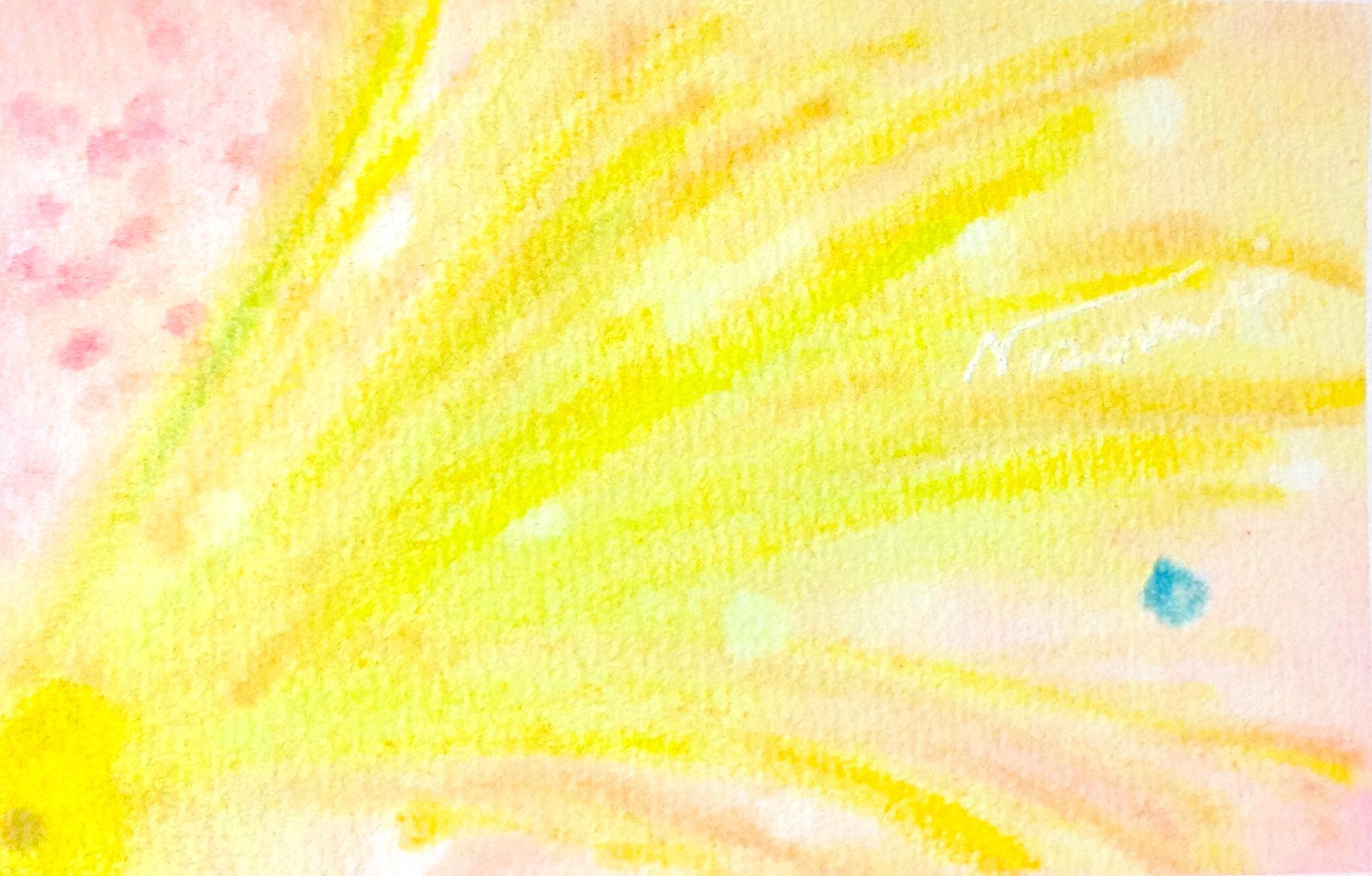 3色パステルアートとは